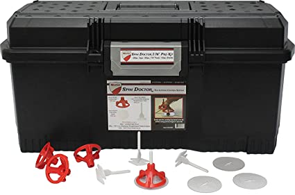 Spin Doctor Tile Leveling Pro Kit 1/16