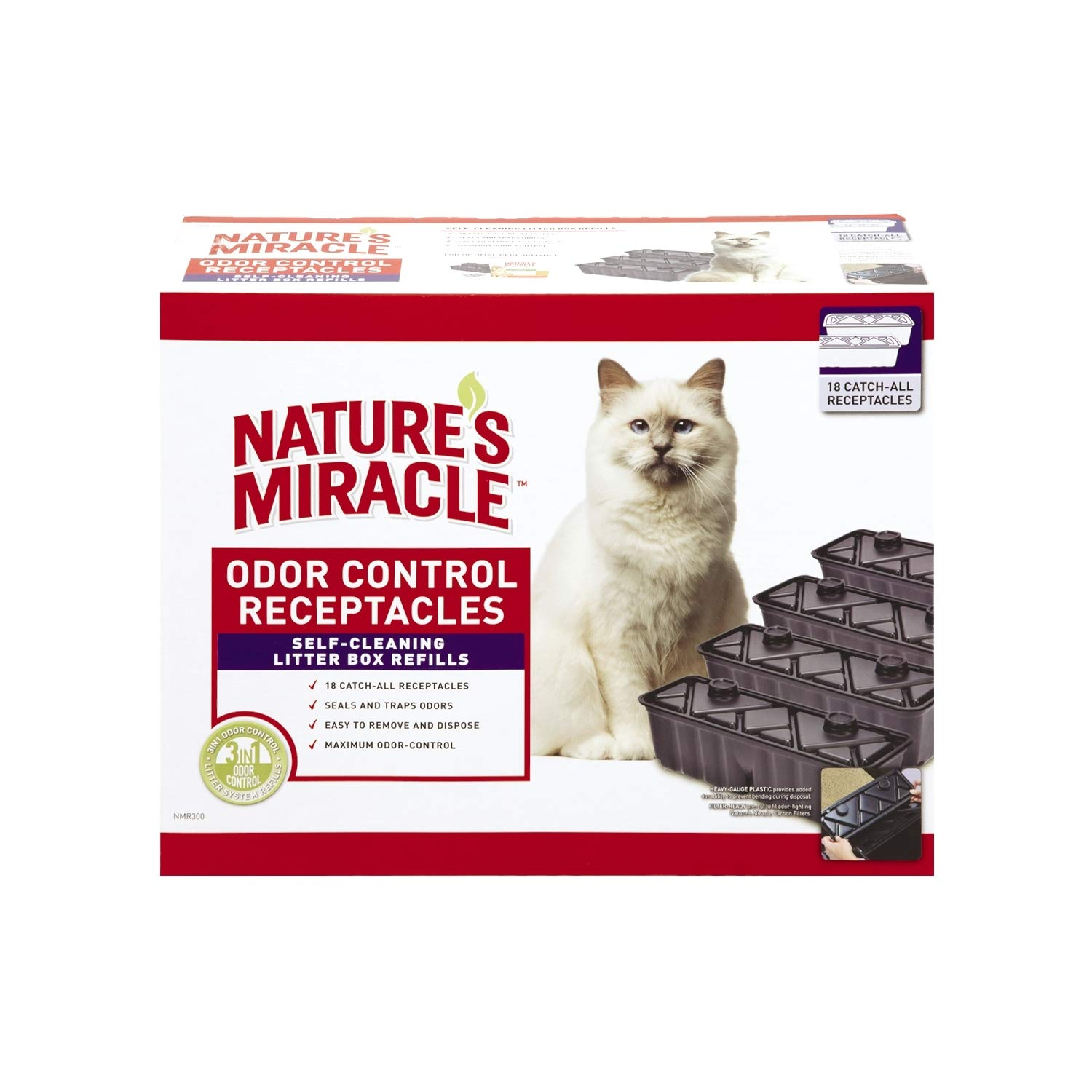Nature's Miracle NMR300 Waste Receptacles (18 Pack)