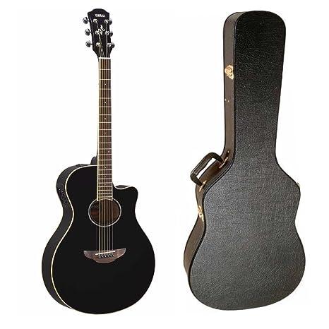 Yamaha apx600bl Thinline Electroacústica guitarra (negro ...