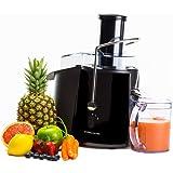 Andrew James Professional Whole Fruit Power Juicer, Black, 850W