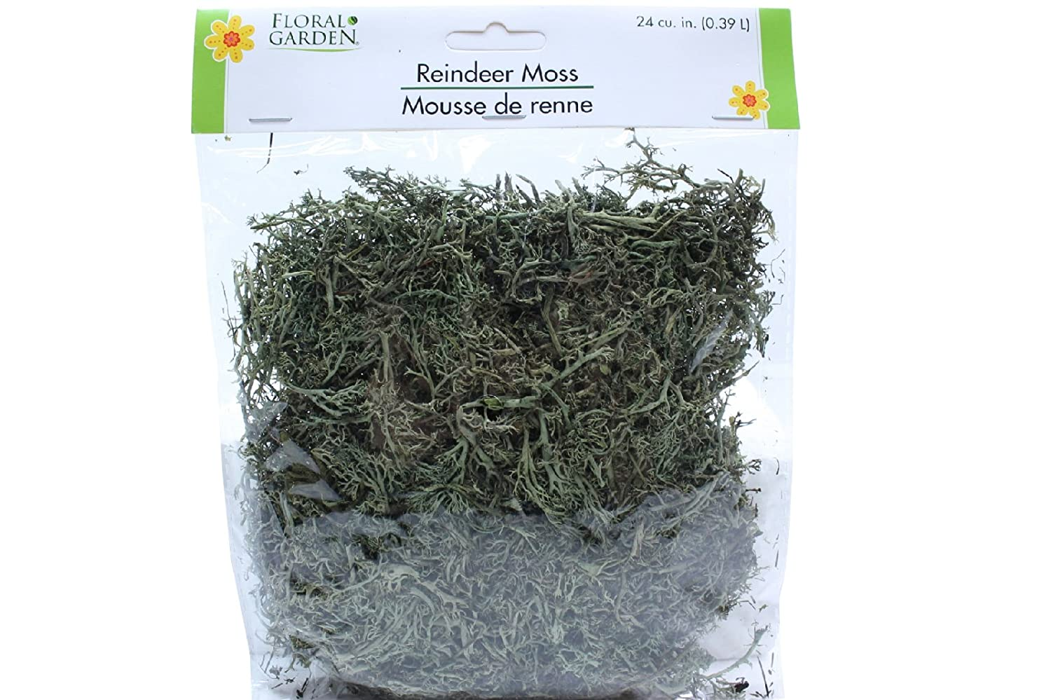 Floral Garden Reindeer Moss Halloween Decor 2 Packs 48 Cubic Inches