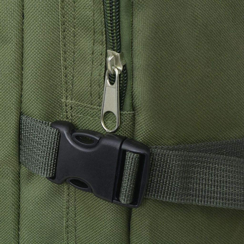 vidaXL Sac /à Dos en Style Militaire pour Camping randonn/ée 40//65//100 L Multicolore