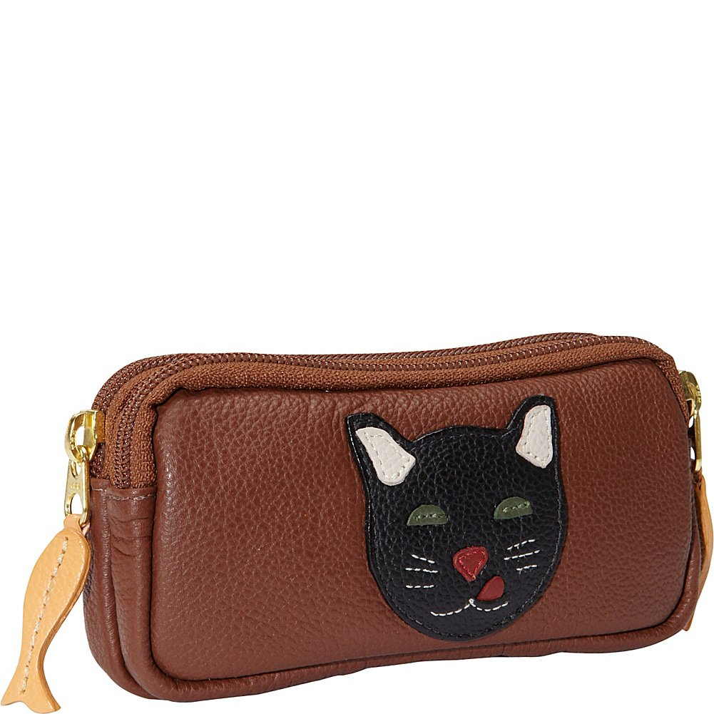 J. P. Ourse & Cie. Double Zip Case (Cat) by J. P. Ourse & Cie.