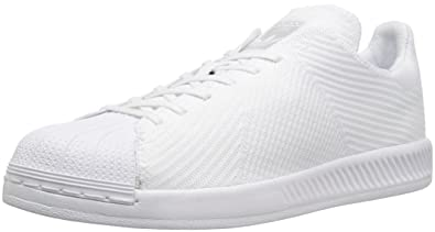 adidas Originals Men\u0027s Shoes | Superstar Bounce PK Fashion, White/White/ White,