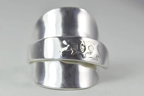 800er Silber Besteck Schmuck Ring, ca. 63 (20) Ring aus