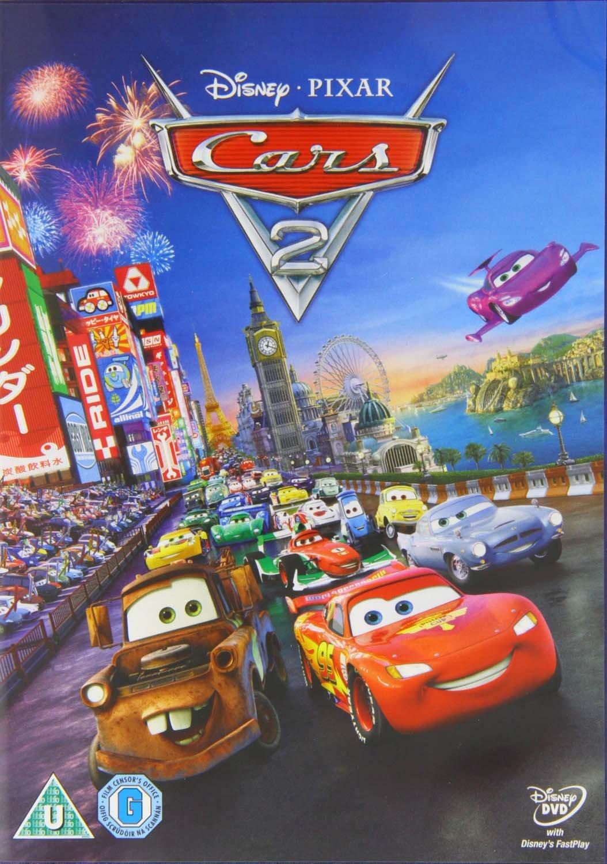 Amazon Com Cars 2 Dvd Movies Tv