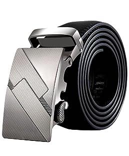 Hebillas de Cinturón,BOBOLover Hombres PU Cuero Hebilla Automática Cinturones Moda Cintura Correa Correa Cintura