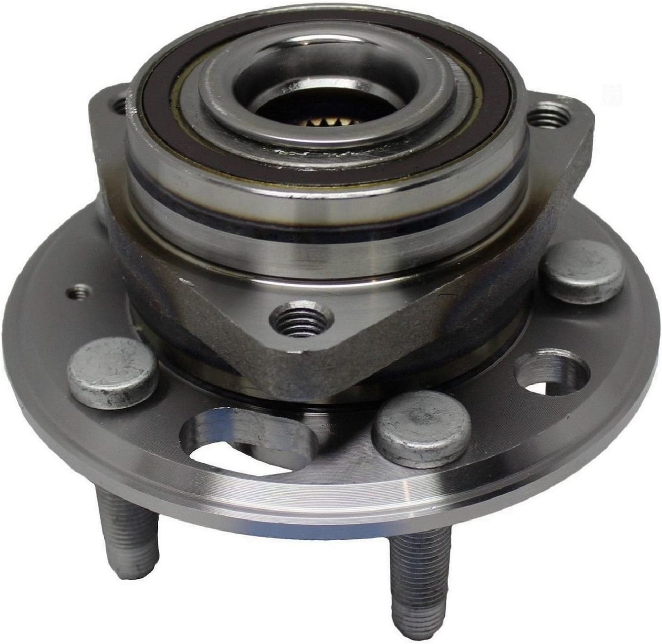 Pair Front Wheel Bearing and Hub Assembly for 2014-16 GMC Sierra 1500 RWD