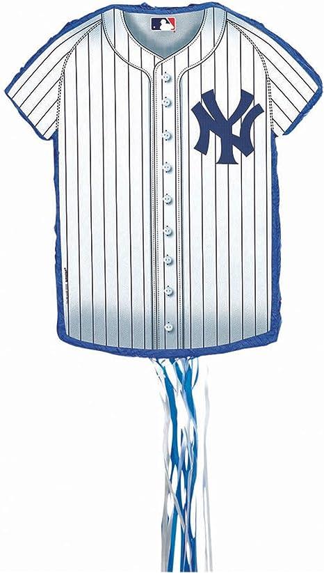 New York Yankees beisbol - camisa sunat cadena Pinata tobbs: Amazon.es: Deportes y aire libre