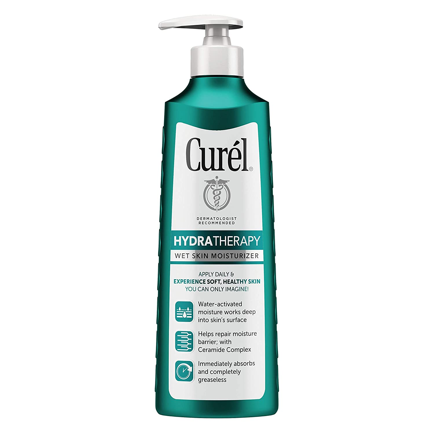 Curél Hydra Therapy Wet Skin Moisturizer for Dry & Extra-Dry Skin, 12 Ounces KAO Brands LEPUSEMTE055
