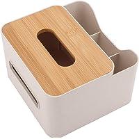 MorNon Multifunctional Tissue Box Rectangular Facial Tissue Holder Dispenser Removable Tissue Box for Dining Room…