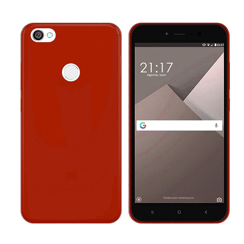 TBOC/® Funda de Gel TPU Transparente para Xiaomi Redmi Note 5A 5.5 Pulgadas de Silicona Ultrafina y Flexible