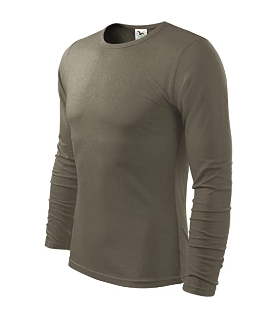 a4b1bab42fcc Herren Langarmshirt 100% Baumwolle T-Shirt Marke Adler - Größe und Farbe  wählbar -