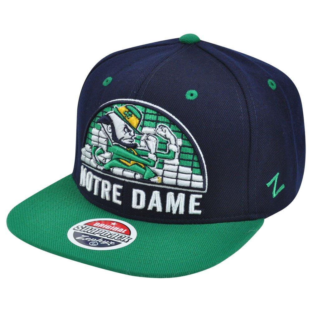 Notre Dame Fighting Irish NCAAスナップバック調整可能な帽子キャップSnap Back – OneサイズFitsすべてOfsa   B00N34HGPM