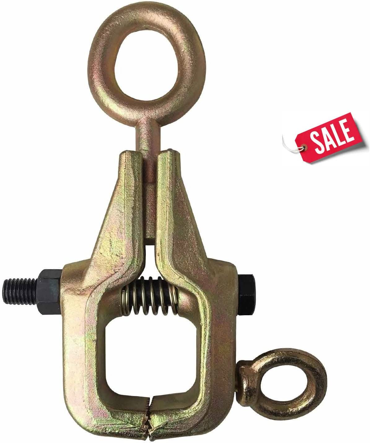 WennoW 2-TON 2-Way Self-Tightening Frame Back Grips /& Auto Body Repair Mini Pull Clamp