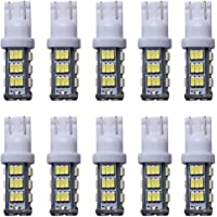 KDL T15 42-SMD LED Replacement Light Bulb 906 579 901 904 908 909 912 914 915 916 917 918 920 921 922 923 926 927 928 939 For RV Camper SUV MPV Car-White (pack of 10)