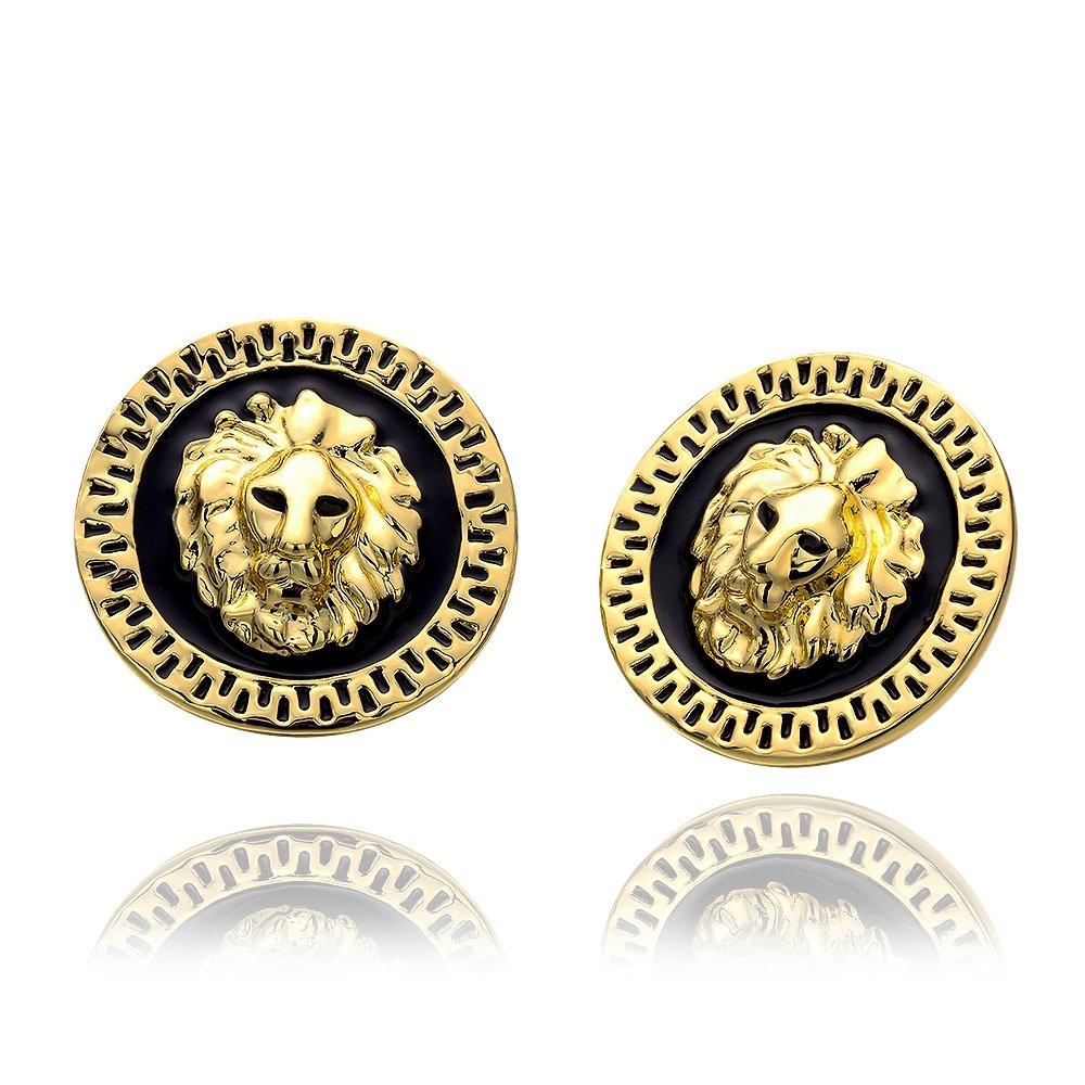 Amazon Men Fashion Lion Leo Stud Earring Perfect Birthday Gift For Husband Jewelry