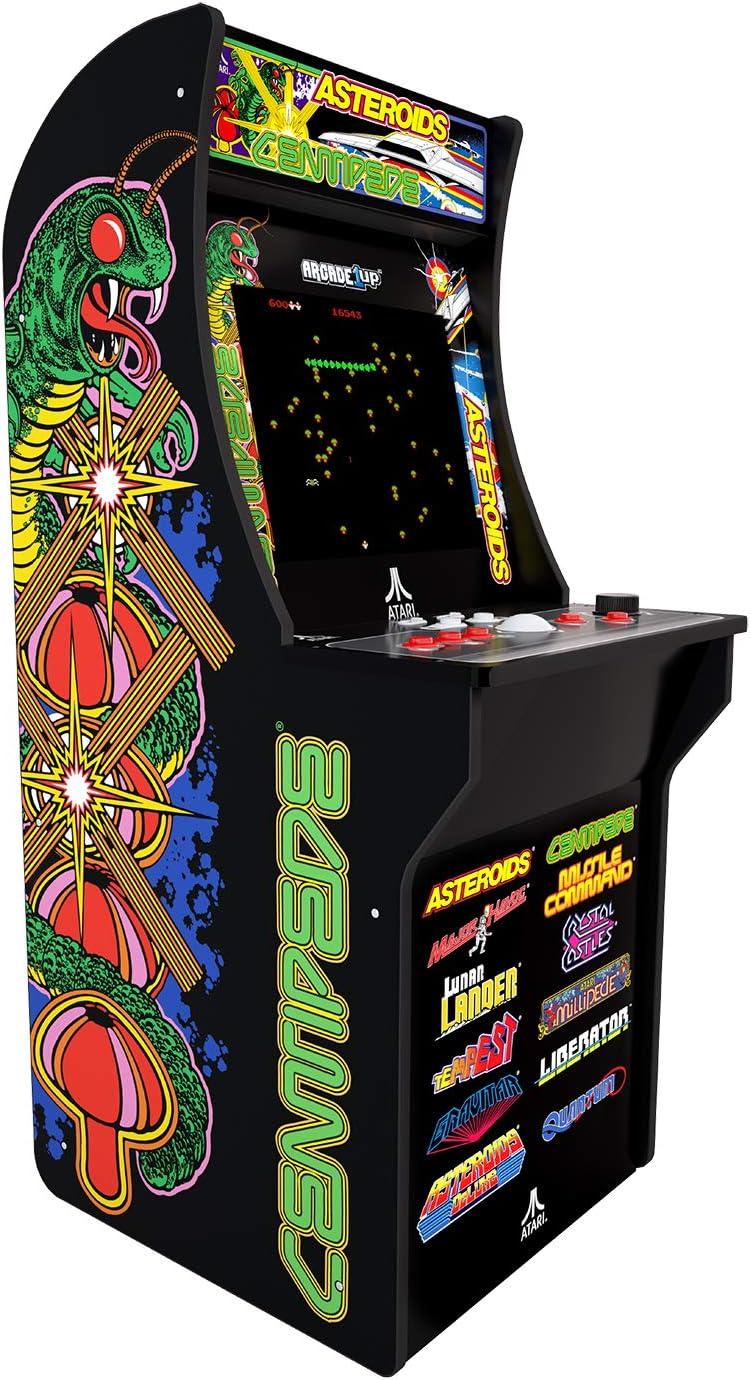 Amazon com: Arcade1Up Deluxe Edition 12-in-1 Arcade Cabinet