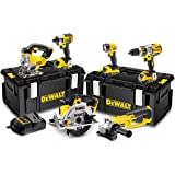 DeWALT DCK694P3 pack 6 machines 18V (3 BATTERIES x 5,0 Ah Li-Ion)