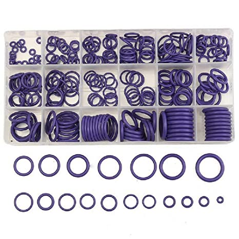 270PCS Rubber O Ring Metric Nitrile Washer Seals Pumps Assortment Kit 18 Sizes