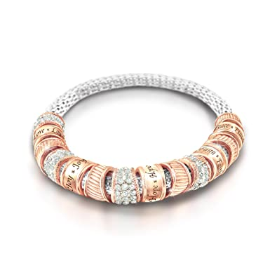 The Bradford Exchange Nature S Soothing Touch Beaded Bracelet