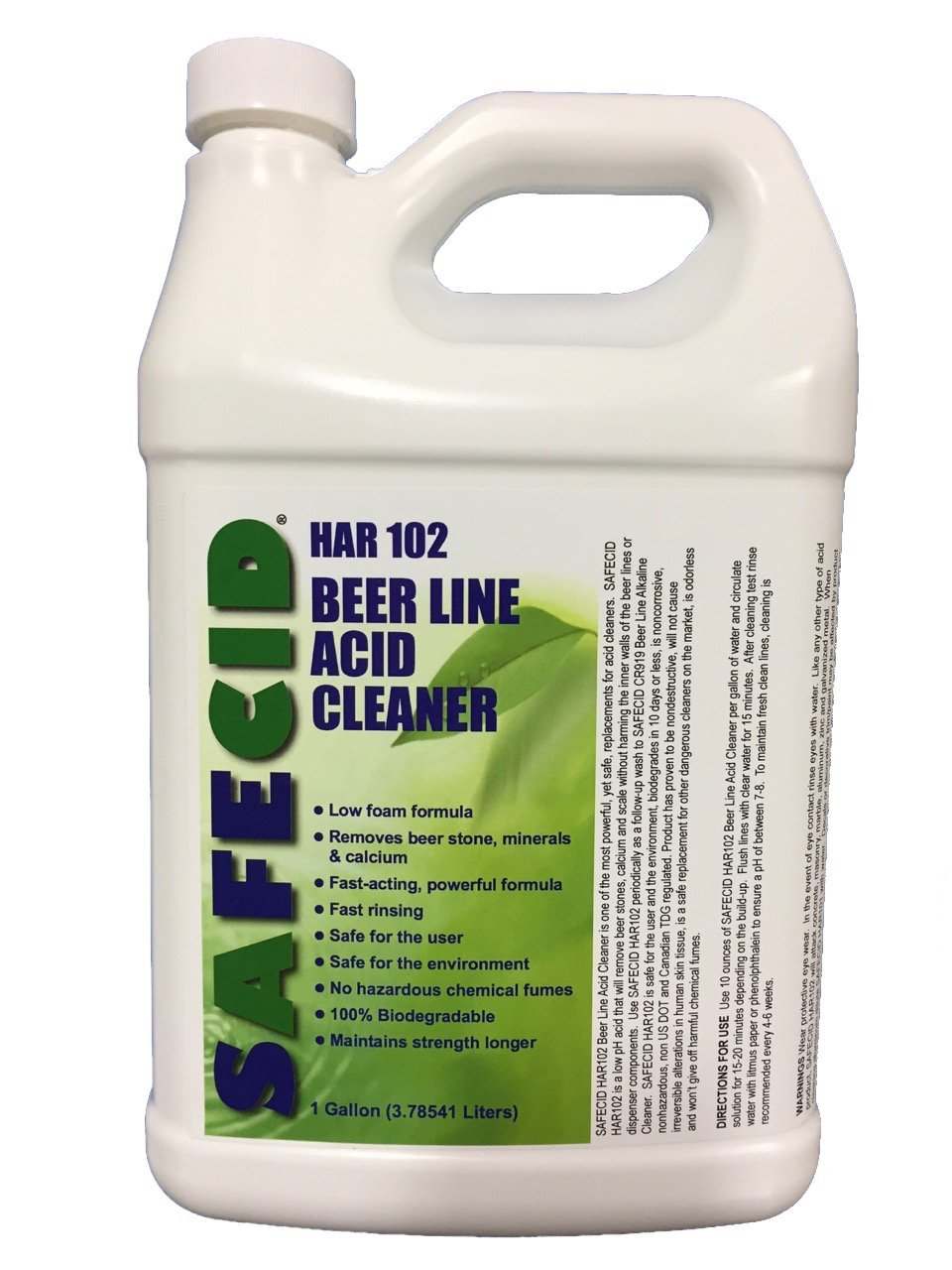SAFECID Beer Line Acid Cleaner Gallon by SAFECID
