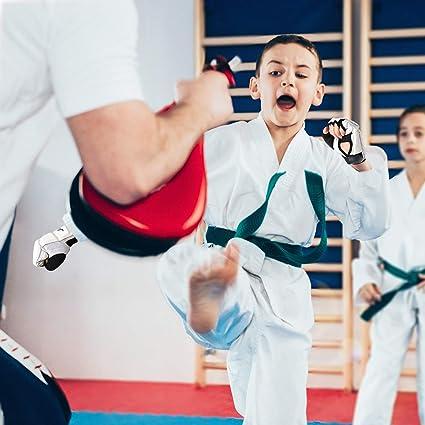Taekwondo-Handschuhe Mitts Grappling Training WTF Kampfsport-Sparring-Neu I D4T6