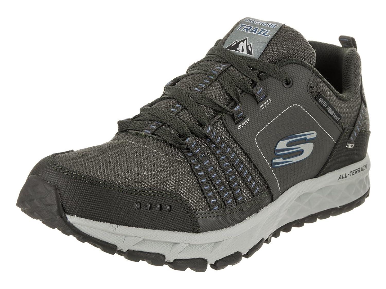 Skechers Mens Escape Plan Low Top Lace Up Running Sneaker B075FYYRLW