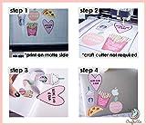 Craftables Waterproof Inkjet Sticker Paper - 50