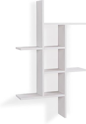 Danya B. Cantilever Wall Shelf – White