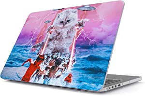 Glitbit Hard Case Cover Compatible with MacBook Air 13 Inch Case, Model: A1466 / A1369 13-13.3 Inch 13