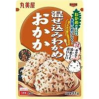 Marumiya Mazekomi Seaweed Dried Bonito Rice Seasoning, 31 g