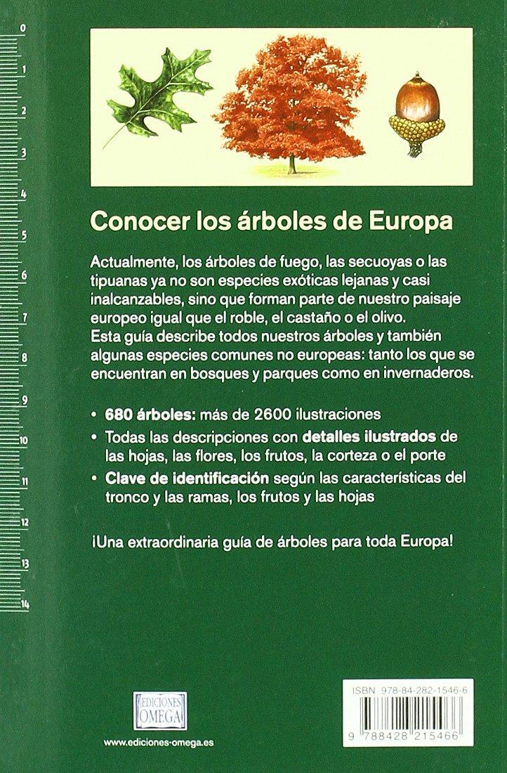 ARBOLES DE EUROPA.NUEVA GUIA DE CAMPO GUIAS DEL NATURALISTA-ARBOLES Y ARBUSTOS: Amazon.es: SPOHN, M. Y R.: Libros