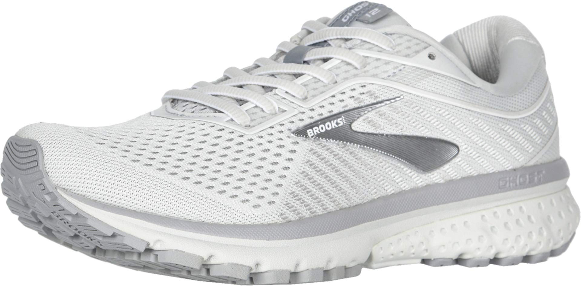 Brooks Ghost 12 Oyster/Alloy/White 9.5 by Brooks