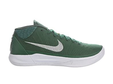 Image Unavailable. Image not available for. Color  Nike Men s Kobe A.D.  Gorge Green Metallic Silver White Nylon Basketball Shoes ... eaaac2aaa