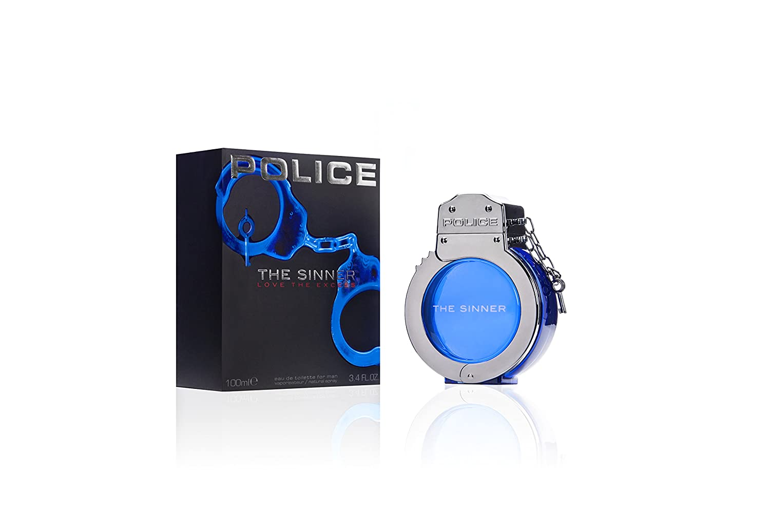 Amazon.com : POLICE The Sinner Eau De Toilette Spray for Men, 3.4 Fluid Ounce : Beauty