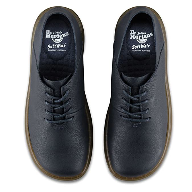 Dr.Martens Womens Lorrie II Virginia Blue Leather Shoes 6.5 UK:  Amazon.co.uk: Shoes & Bags