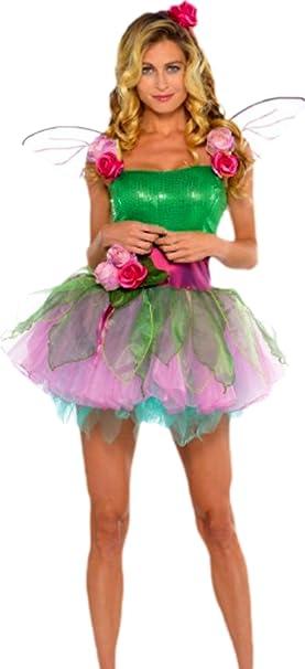 Erdbeerloft - Conjunto de disfraz de ninfa para mujer, L-S, color ...