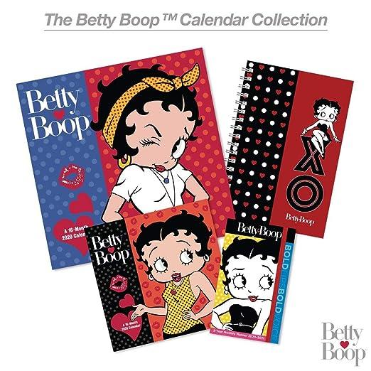 Amazon.com: Planificador de bolsillo Betty Boop 2020-2021 ...