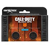 KontrolFreek Call of Duty: Black Ops 4 for PlayStation 4 (PS4) Controller | Performance Thumbsticks | 2 High-Rise | Black/Orange