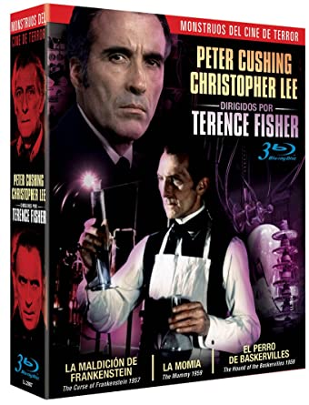 Pack Terence Fisher - Monstruos del Terror [Blu-ray]: Amazon.es: Peter Cushing, Christopher Lee, Terence Fisher, Peter Cushing, Christopher Lee: Cine y Series TV