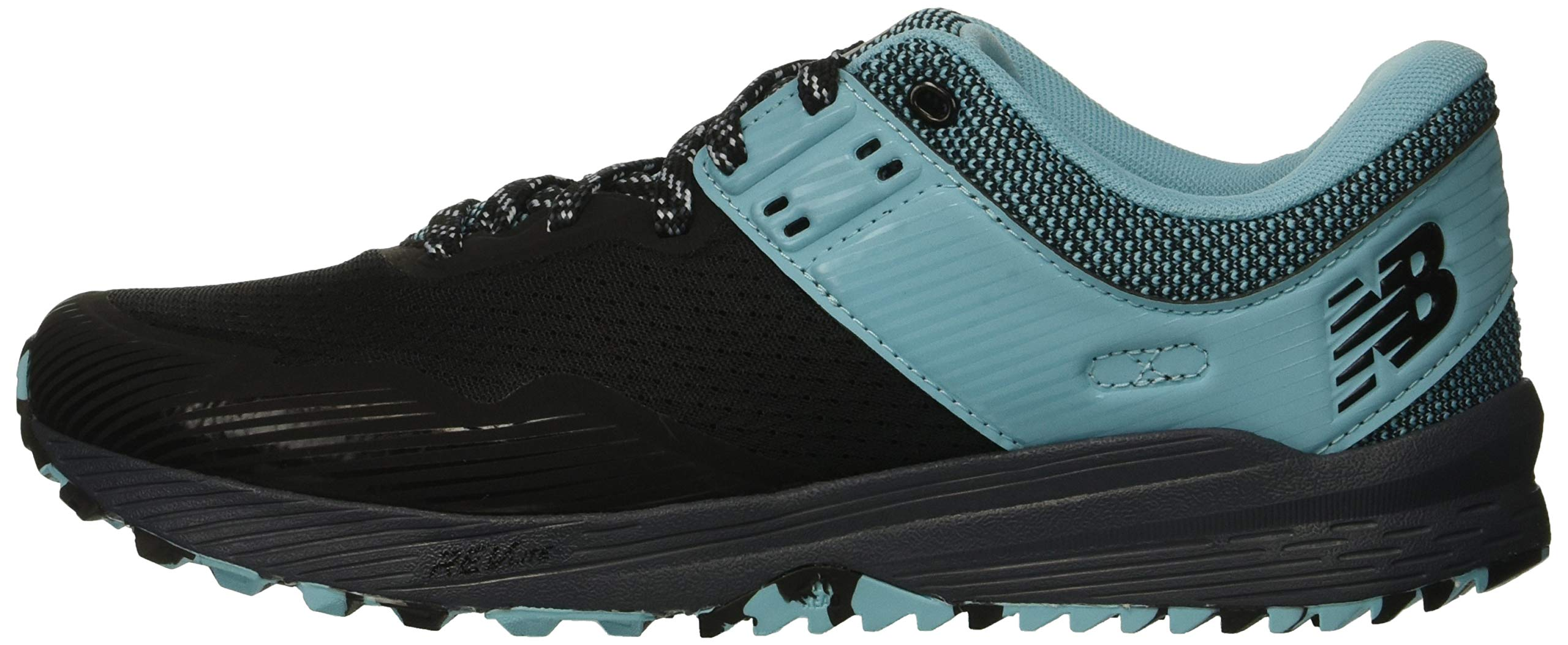 New Balance Women's Nitrel V2 FuelCore Trail Running Shoe Black/Thunder/Enamel Blue 5.5 B US by New Balance (Image #5)