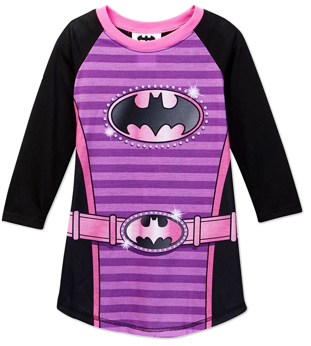 DC Comics Batgirl Logo Nightgown for girls (6) AME BW016GDLZ6