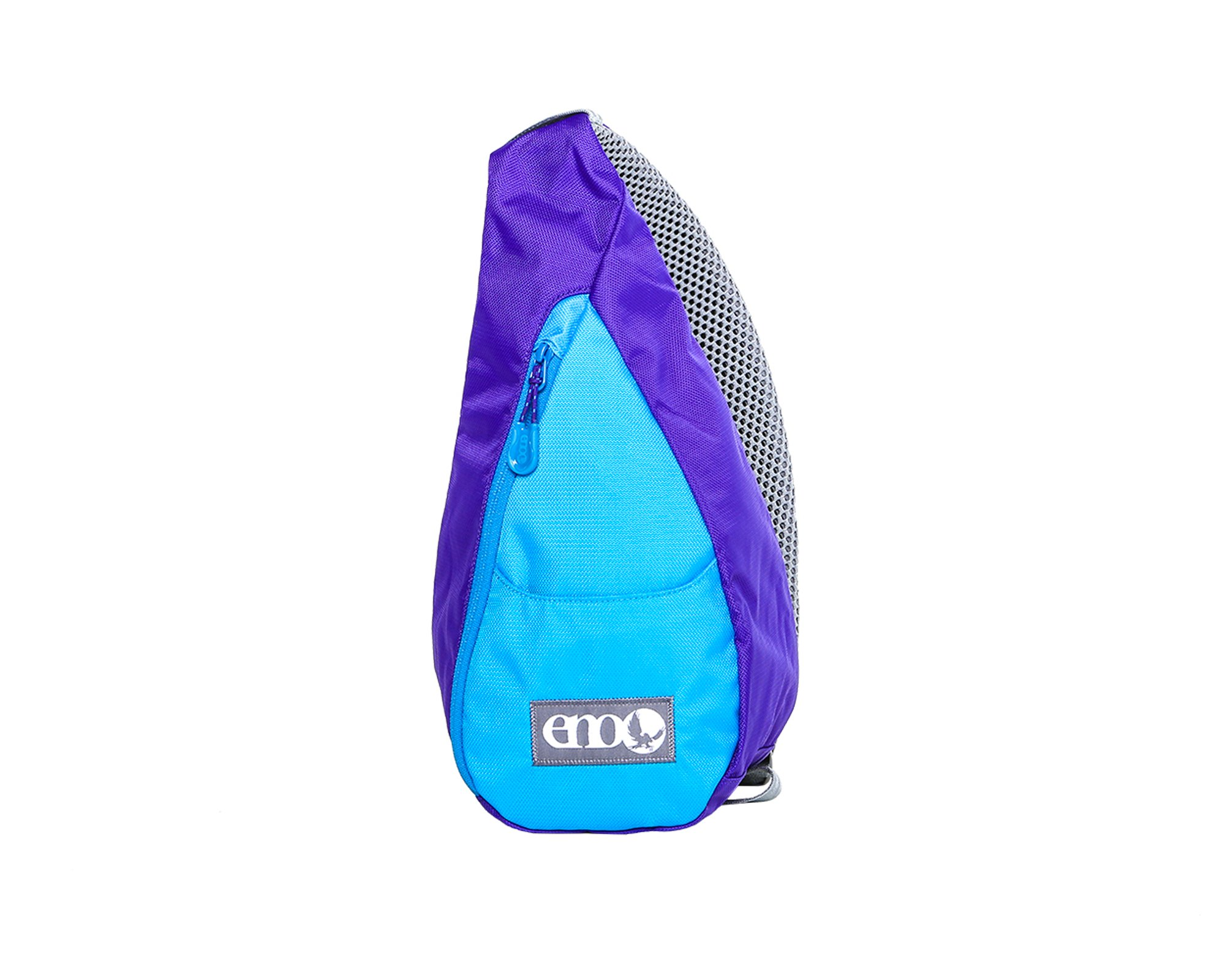 Eagles Nest Outfitters ENO Possum Pocket Sling Backpack, Purple/Teal, Purple/Teal, One Size