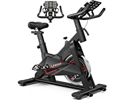 LABODI Exercise Bike, Stationary Indoor Cycling Bike, Cycle Bike for Home Cardio Gym, Belt Drive Workout Bike with 35 LBS Fly