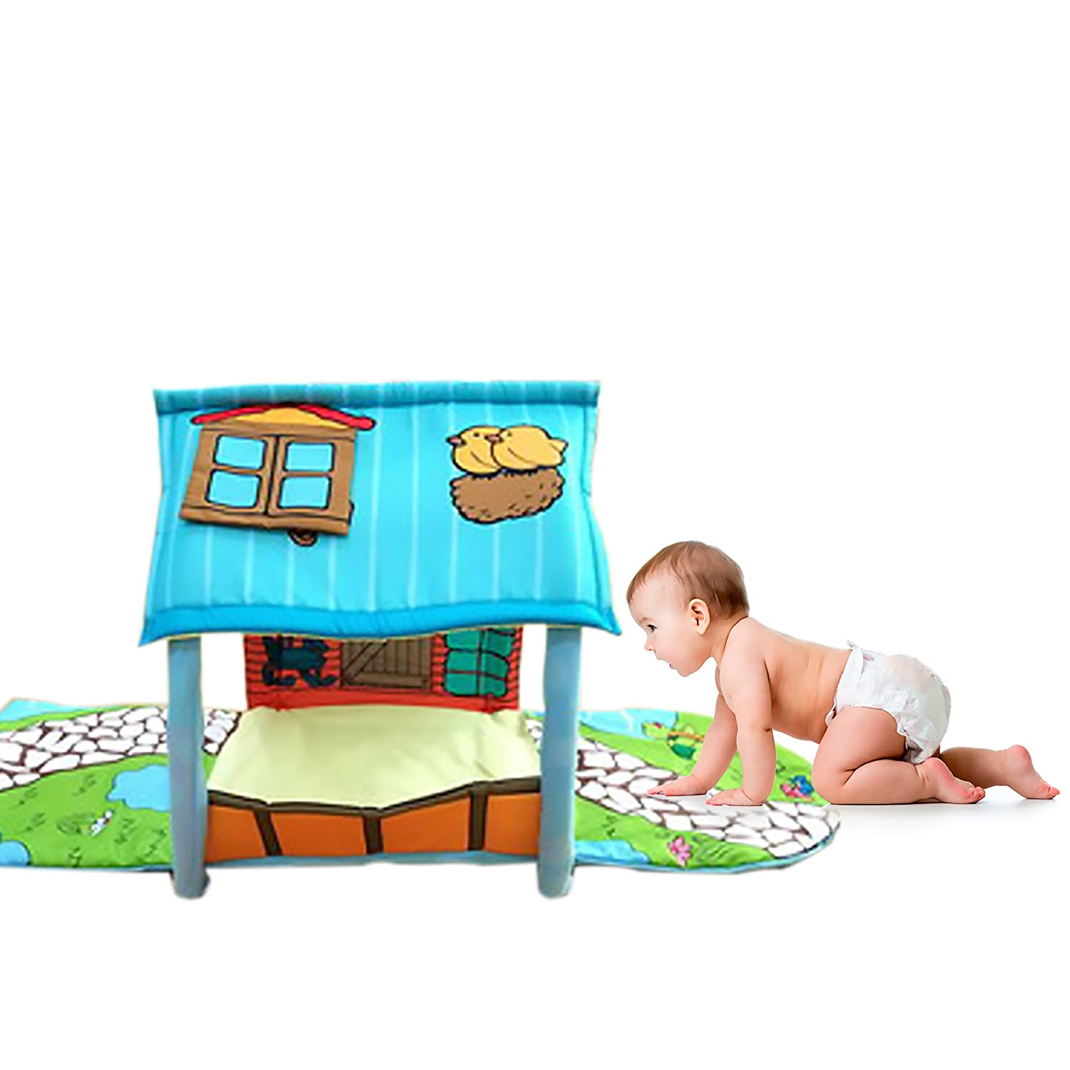 Amazon.com: JamBea Multi Functional Padded Baby playmat ...