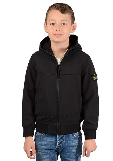 new product 8acfe cfa3c Stone Island Kids Q0130 Jacket in Black: Amazon.co.uk: Clothing