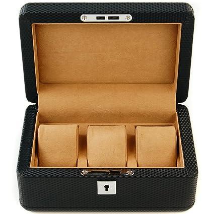 Cajas de joyería decorativas,Caja de reloj Caja de almacenamiento Pulsera Joyas Accesorios Caja de