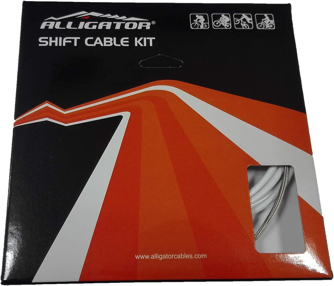ONOGAL Set Completo Fundas y Cables de Cambio Alligator Sleek ...