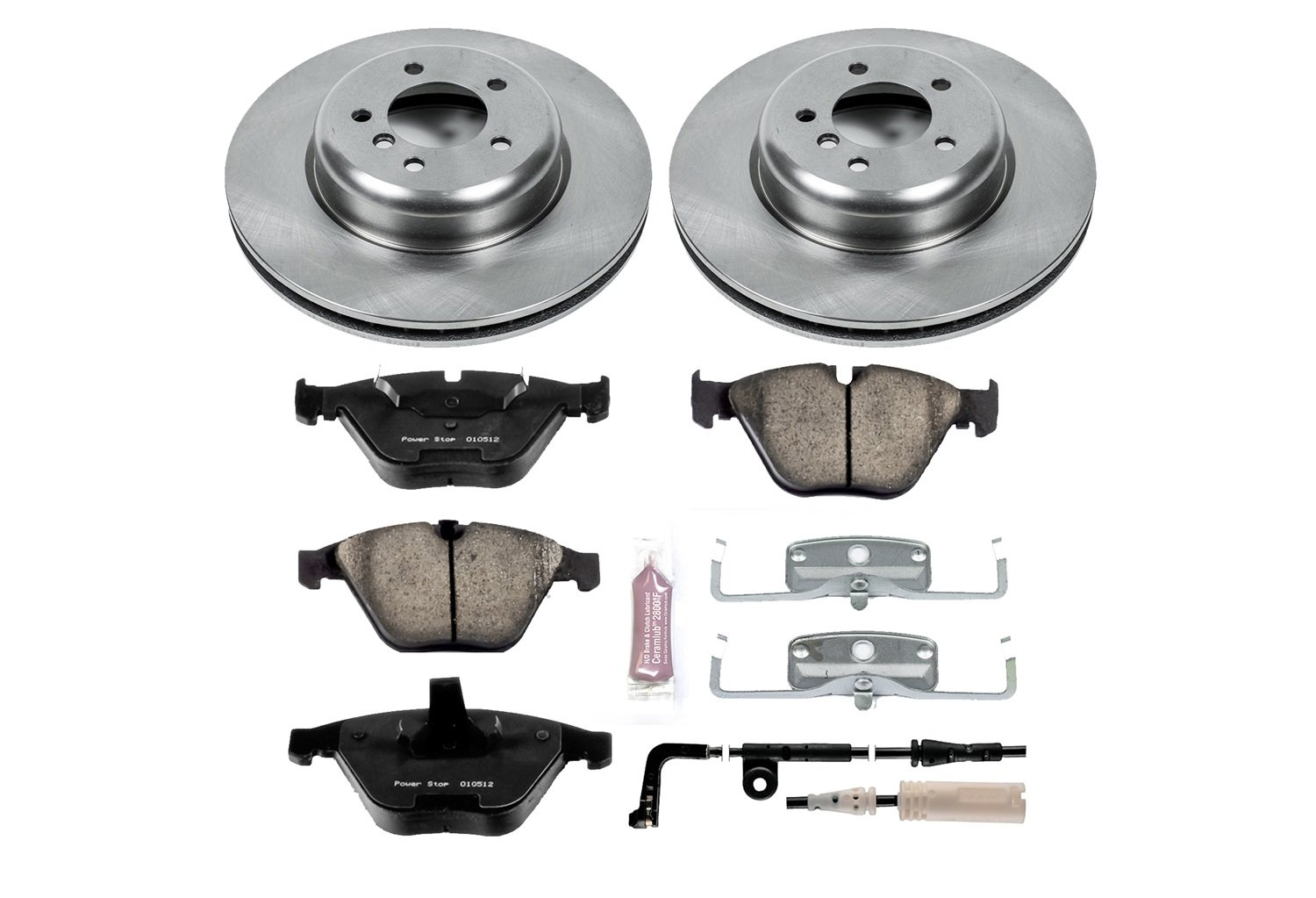Autospecialty KOE2918 1-Click OE Replacement Brake Kit Power Stop